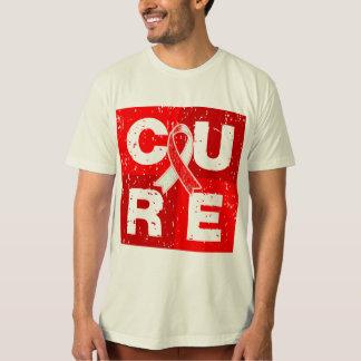 CURE Squamous Cell Carcinoma Cube T-shirts