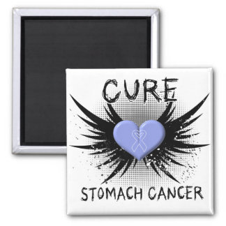 Cure Stomach Cancer 2 Inch Square Magnet