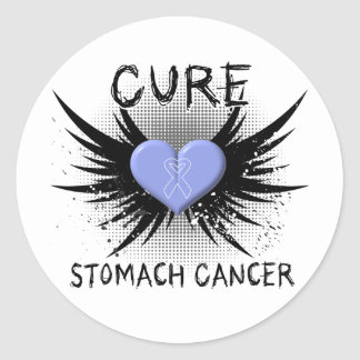 Cure Stomach Cancer Stickers