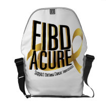 Cure Support Childhood Cancer Awareness Courier Bag