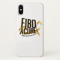 Cure Support Childhood Cancer Awareness iPhone X Case