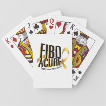 Cure Support Childhood Cancer Awareness Playing Cards