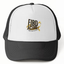 Cure Support Childhood Cancer Awareness Trucker Hat