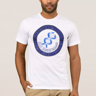 cure the boys ALD Awareness T-Shirt
