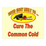 Cure The Common Cold Postcards
