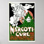 Cure the Tobacco Habit 1895 Print