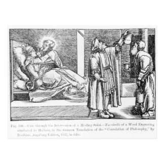 Cure through the Intercession of a Healing Postcard