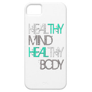 Cure Thy mente curan a Thy cuerpo Funda Para iPhone SE/5/5s