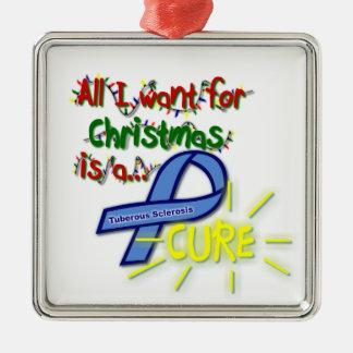Cure TSC Fancy Ornament