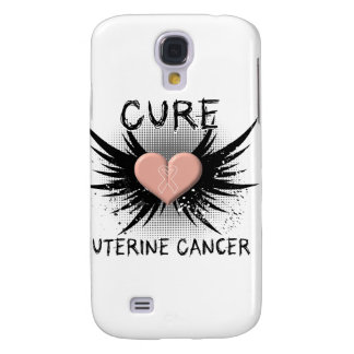 Cure Uterine Cancer Galaxy S4 Covers