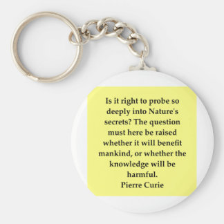 curie13 keychain