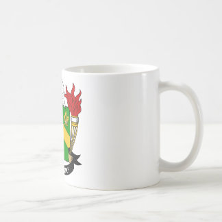 Curie Family Crest Mugs
