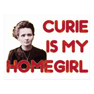 Curie Is My Homegirl Postcard