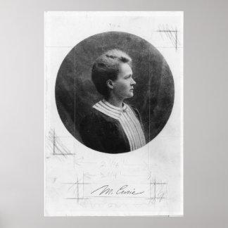 Curie polaco de Marie Sklodowska del físico Posters
