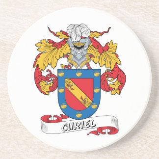 Curiel Family Crest Coaster