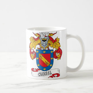 Curiel Family Crest Coffee Mugs