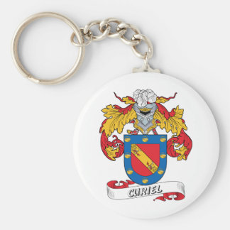 Curiel Family Crest Keychain