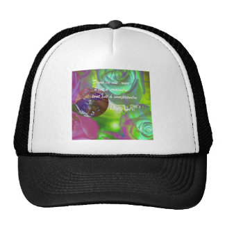 Curie's quote trucker hat