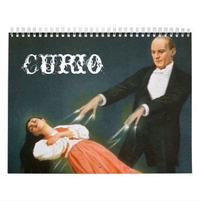 Curio Wall Calendar