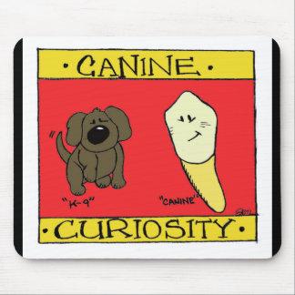 Curiosidad canina Mousepad
