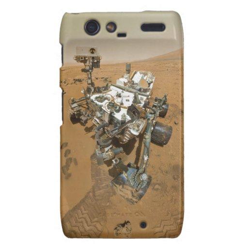Curiosidad de Marte Rover en Rocknest Motorola Droid RAZR Funda