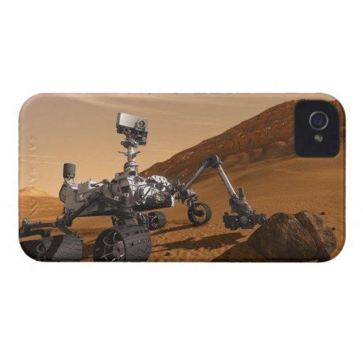 Curiosidad: El Marte siguiente Rover iPhone 4 Fundas
