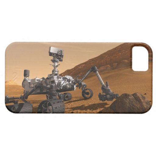 Curiosidad: El Marte siguiente Rover iPhone 5 Case-Mate Carcasas