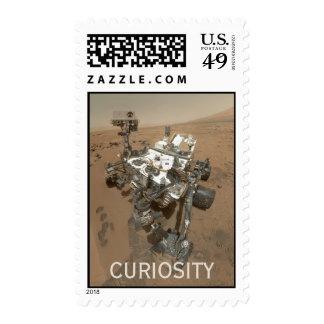 Curiosidad en franqueo de la primera clase de Mart