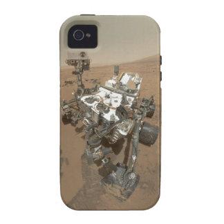Curiosidad en Marte Case-Mate iPhone 4 Carcasas