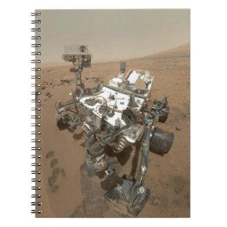 Curiosidad en Marte Libretas