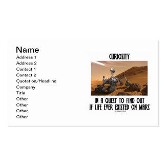 Curiosidad en una búsqueda para encontrar si tarjetas de visita
