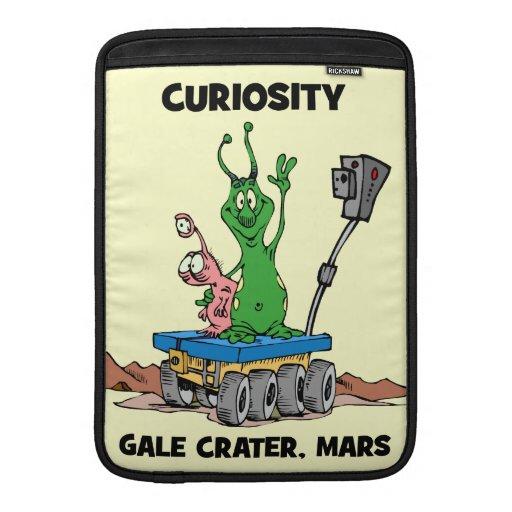 Curiosidad Marte Rover Funda Macbook Air