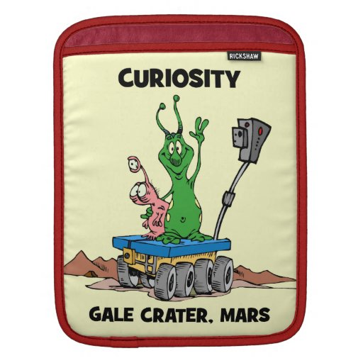 Curiosidad Marte Rover Fundas Para iPads