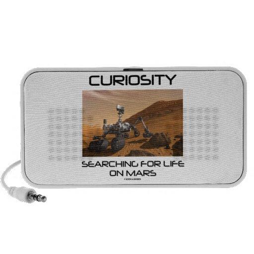 Curiosidad que busca para la vida en Marte (Marte  iPod Altavoz