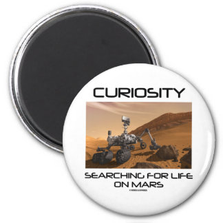 Curiosidad que busca para la vida en Marte (Marte  Iman Para Frigorífico