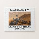Curiosidad que busca para la vida en Marte (Marte Puzzles Con Fotos