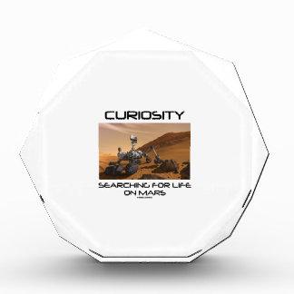 Curiosidad que busca para la vida en Marte (Marte