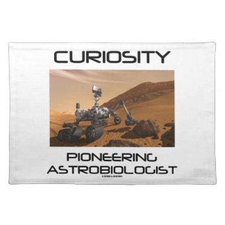 Curiosidad que promueve al Astrobiologist (Marte Mantel