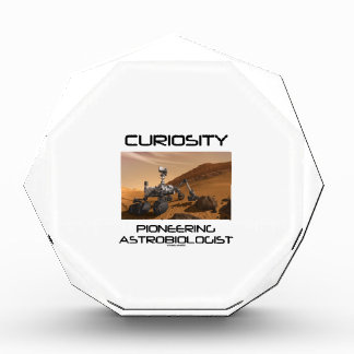 Curiosidad que promueve al Astrobiologist (Marte R