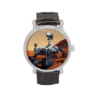 Curiosidad Rover de Marte Relojes De Pulsera
