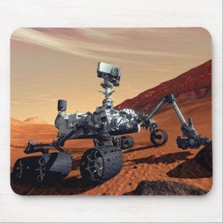 Curiosidad Rover de Marte Alfombrilla De Ratón