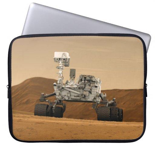Curiosidad Rover en Marte Mangas Portátiles