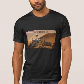 Curiosidad Rover en Marte Camisetas