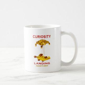 Curiosidad Rover que aterriza el logotipo del equi Taza De Café