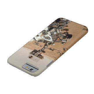 Curiosidad Selfie de Marte Funda Para iPhone 6 Barely There