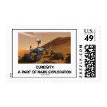 Curiosidad: Una parte de exploración de Marte Sello