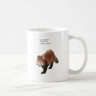 curiosidades de la panda roja tazas de café