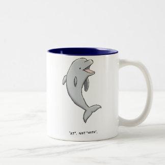 curiosidades del delfín tazas de café