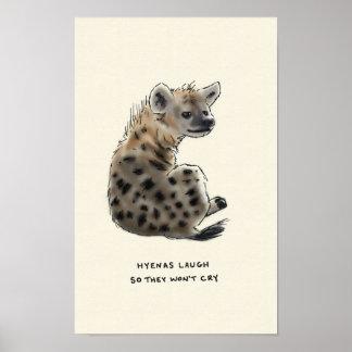 curiosidades del hyena póster