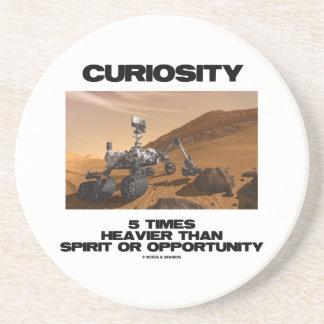 Curiosity 5 Times Heavier Than Spirit Opportunity Coaster